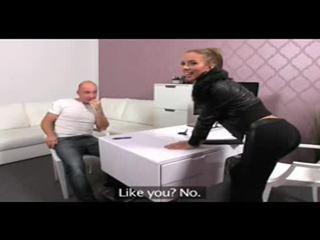 Femaleagent casting creampie voor teasing agent