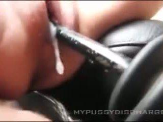Creamy masturbation kočička v auto