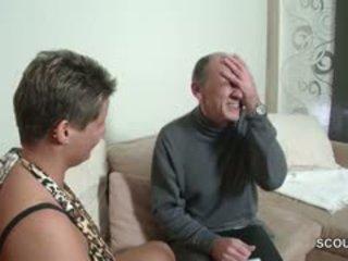 Uzbudinātas vācieši vectēvs kārdināšana pusaudze līdz jāšanās ar viņam