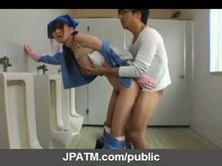 Ιαπωνικό δημόσιο σεξ - ασιάτης/ισσα εφηβική ηλικία exposing έξω part03