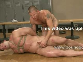 Brenn blows his load all over Vince