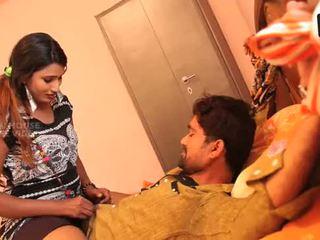 Telugu aunty met een lover jongen