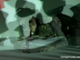 Christy mack ฮัลโลวีน masturbation