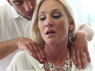 PureMature - Hot busty milf Alexis Malone is craving some hard cock