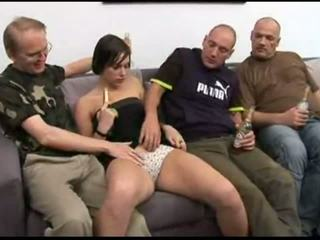 couch, drunk, blowjob