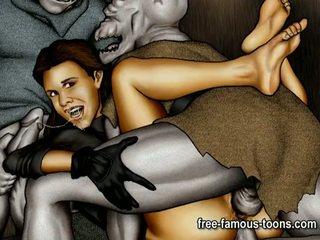 Zvaigzne wars porno parodija