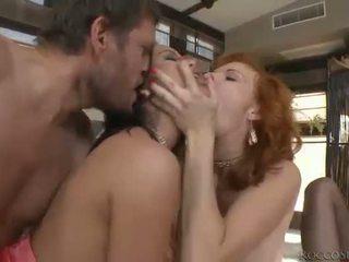 hardcore sexo, sexo oral, dupla penetração