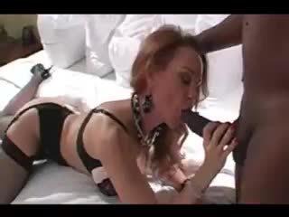 Sexy amateur cougar rijpere vrouw interraciaal hoorndrager liefde making