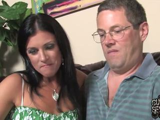 Vīrs watches pair oustanding melnas zonkers bump viņa sieva uz šī kukolds band penetrate