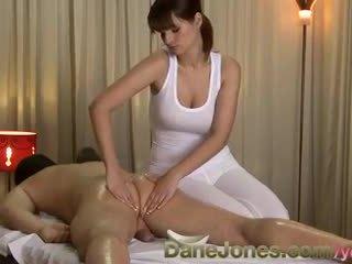 brunette, orale seks, grote borsten