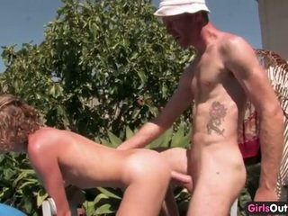 Nice australian asshole penetrated