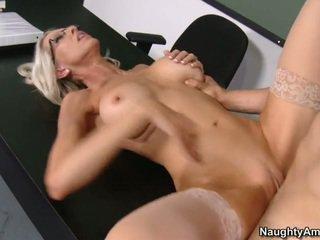 hardcore sexo, porn star, escritório sexo