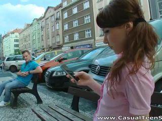 Ištvirkęs rusiškas paauglys pakliuvom sunkus į namai