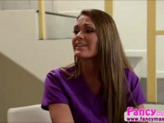 si rambut coklat, menjilat, lesbian