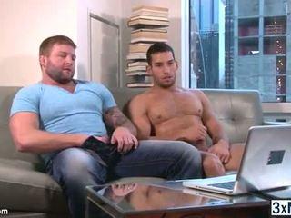 homoseksuāls, doggystyle, muskulis