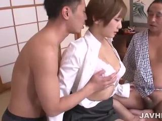Rasiert japanisch muschi pounded