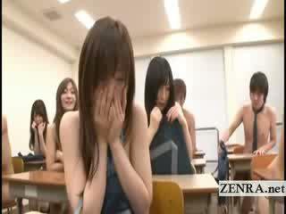 college, japansk, striptease