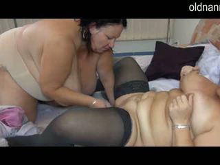 big boobs, granny, old+young