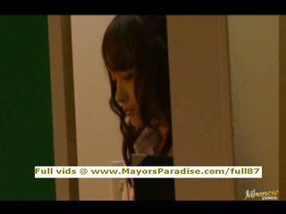 Mihiro from idol69 asia rumaja brunette gets licked