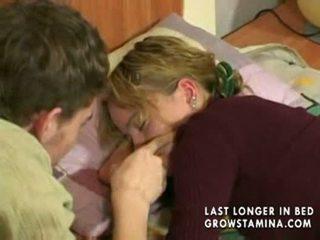 Sleeping gf gets banged