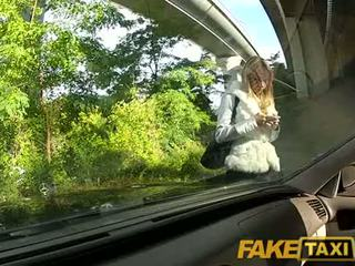 FakeTaxi Angel is pounded by my big cock on my taxi, Who is She?