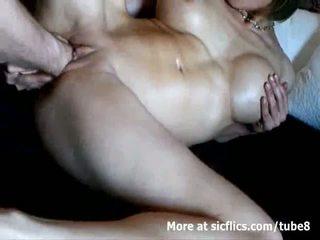 Rinnakas milf double fist perses kuni a metsik orgasm