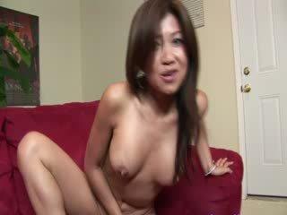Super slutty asian bitch