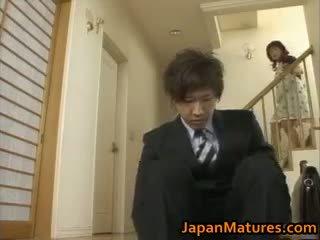 brunetta, giapponese, sesso di gruppo