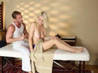 Hambriento hardcore sexo de tricky spa material
