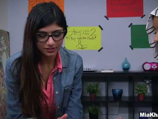Bj lessons with mia khalifa.