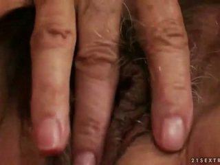 masturbating, old, grandma