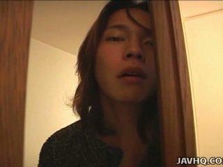 Japońskie nastolatka gets brudne w the bath uncensored