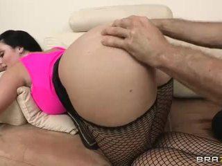 Sophie dee gets 그녀의 수분이 많은 큰 엉덩이 filled 와 무거운 형사