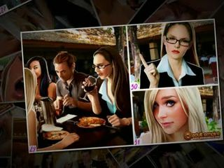 Nicole heat - o casamento gang-bang