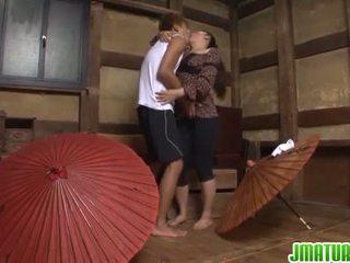 японський, мастурбація, зрілий