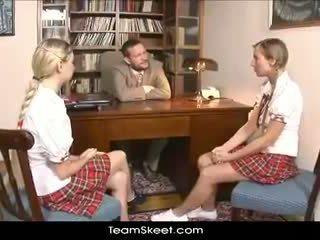 bröst, tonåring, flicka
