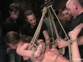 Princess Donna Fuck Whilst Hanging On The Rope