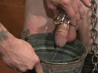 Gay Fella Spanked And Fucked