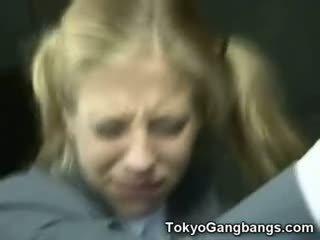 japansk, utomhus, särskilt allvarliga