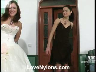 brunete, pussy licking, lesbo