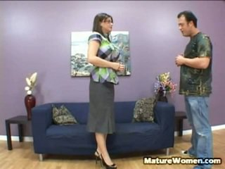 Oustanding Titty Black Haired MILF Sara Stone Just Got Made Redundant, Booted Out Onto A Street Was Only A Cardboard Box To Hold Her Possessions. Just As She Is Leaving A Office, She Is Approached By