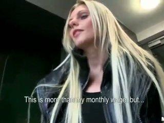 Czech slut Katka screwed up for money