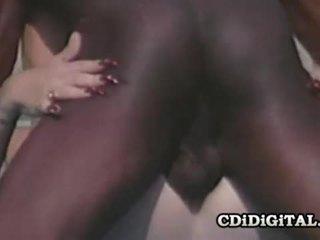 Lynn lemay retro blondie pleasing ein schwarz dong