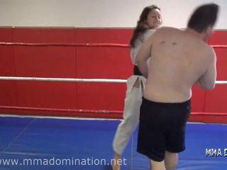 Sajaukts fight- headscissor beatdowns trampling humillation