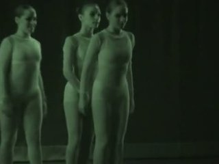 Sexy Dancers Recorded With Xray - See Through