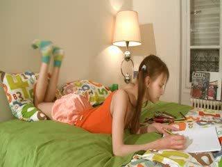 Gemeen homework van smart teenager