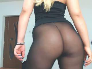 blondynki, duże tyłki