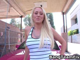 Blondine alana evans receives anaal comeback