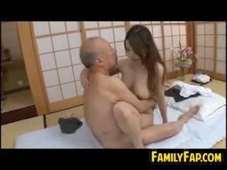 japonais, vieux + jeune, fétiche