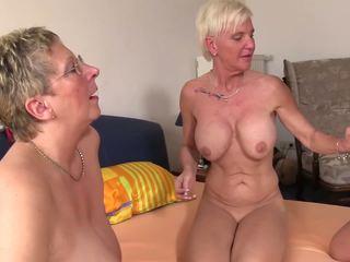 Xxx omas - sexo a quatro caralho para marota alemão loira.